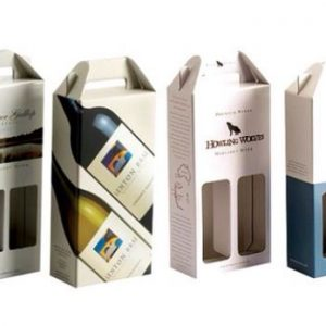 Cajas de carton para vinos