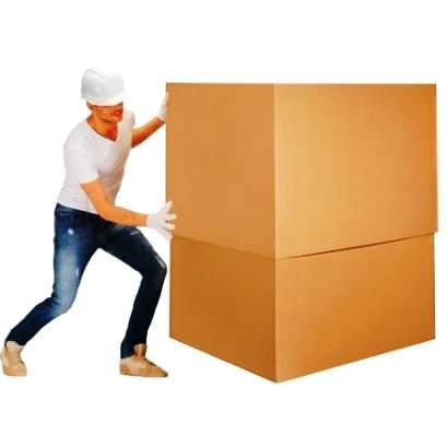 cajas de cartón extra-grandes