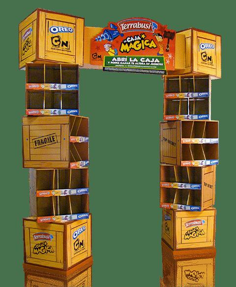 Exhibidores de Carton